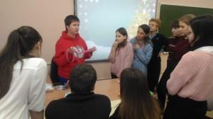 22 ноября — филиал колледжа принял активное участие в «Ярмарке учебных мест